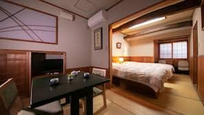 1 개의 침실, 객실 내 금고, 각각 다르게 꾸며진, 각각 다르게 가구가 비치된