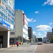 Hotellets uteområde
