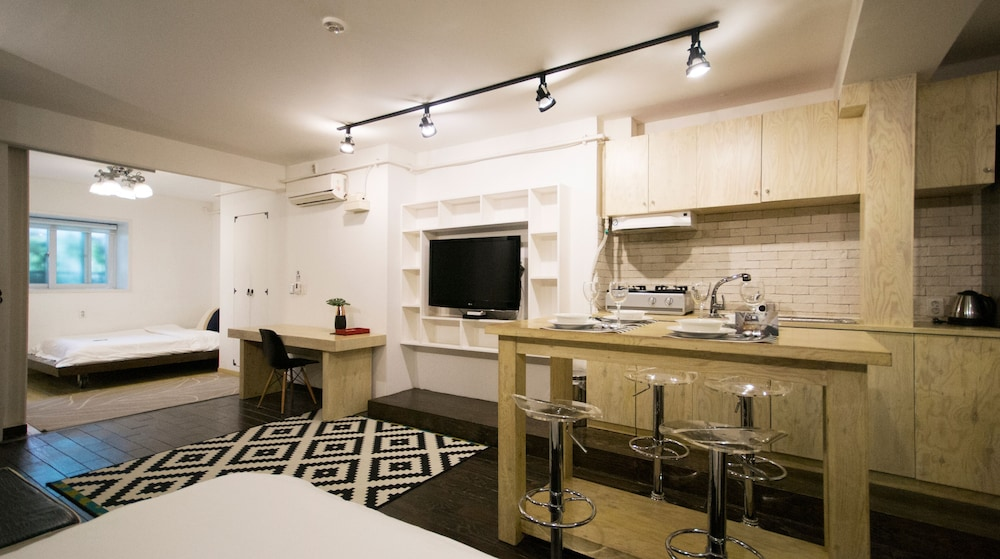 Private Kitchen, SLA Seoul Loft Apartments
