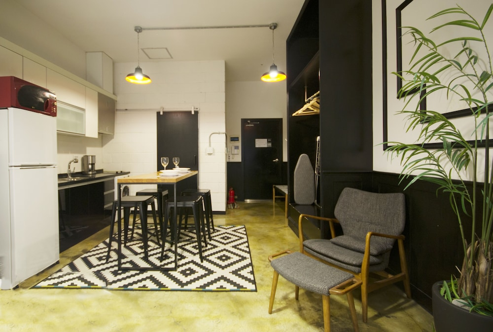 Living Area, SLA Seoul Loft Apartments