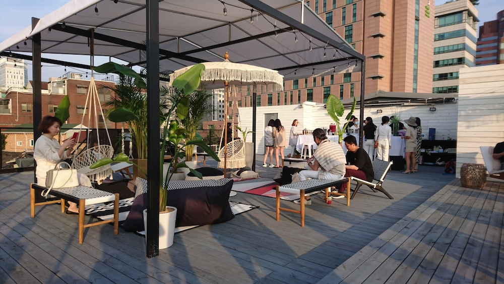 Terrace/Patio, SLA Seoul Loft Apartments