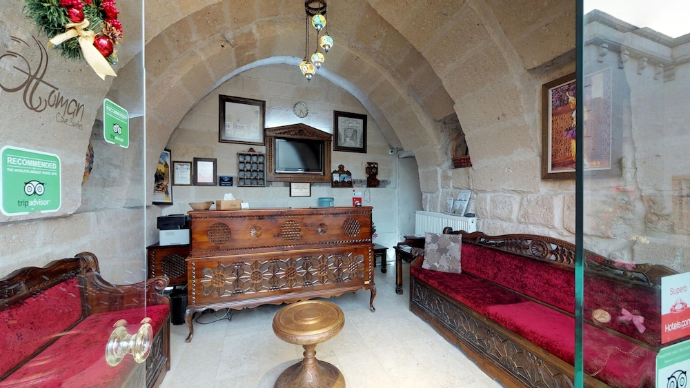 Reception, Ottoman Cave Suites