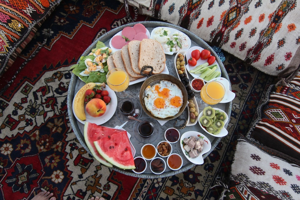 Breakfast Meal, Ottoman Cave Suites