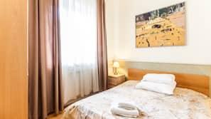 Premium bedding, desk, iron/ironing board, rollaway beds