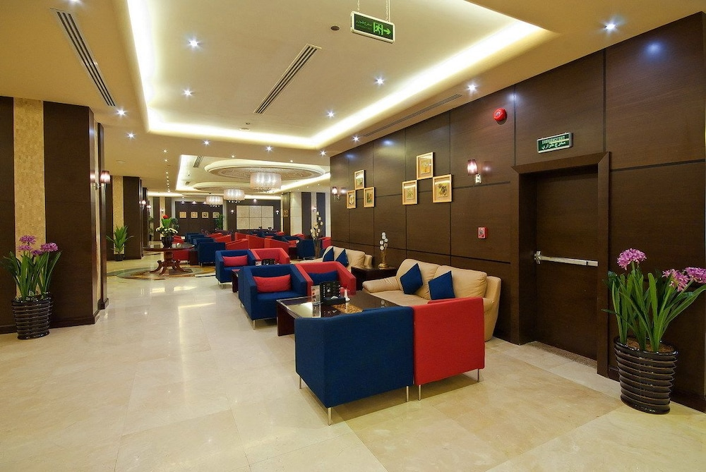 Lobby Sitting Area, Dar Al Eiman Royal Hotel