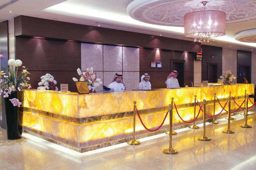 Reception, Dar Al Eiman Royal Hotel