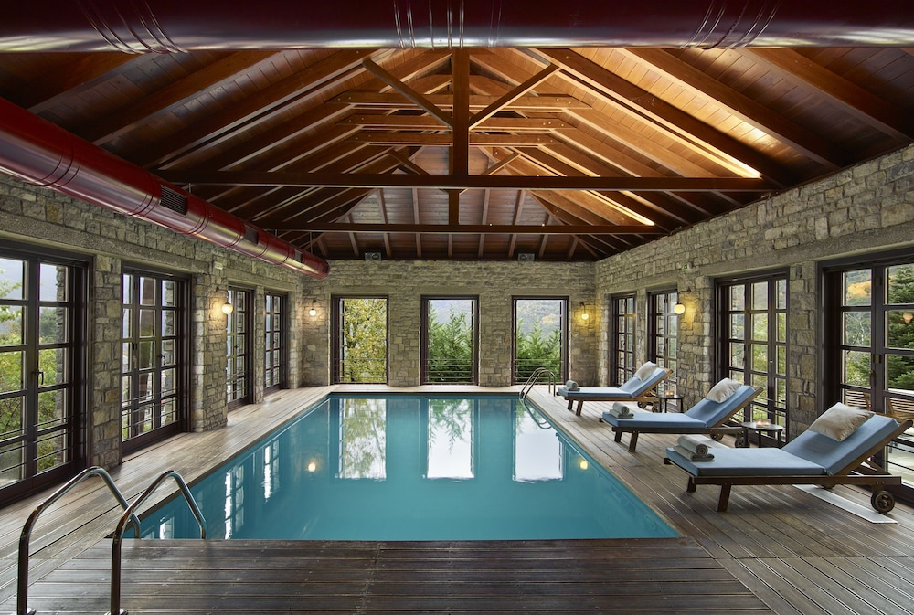Indoor Pool, Aristi Mountain Resort and Villas