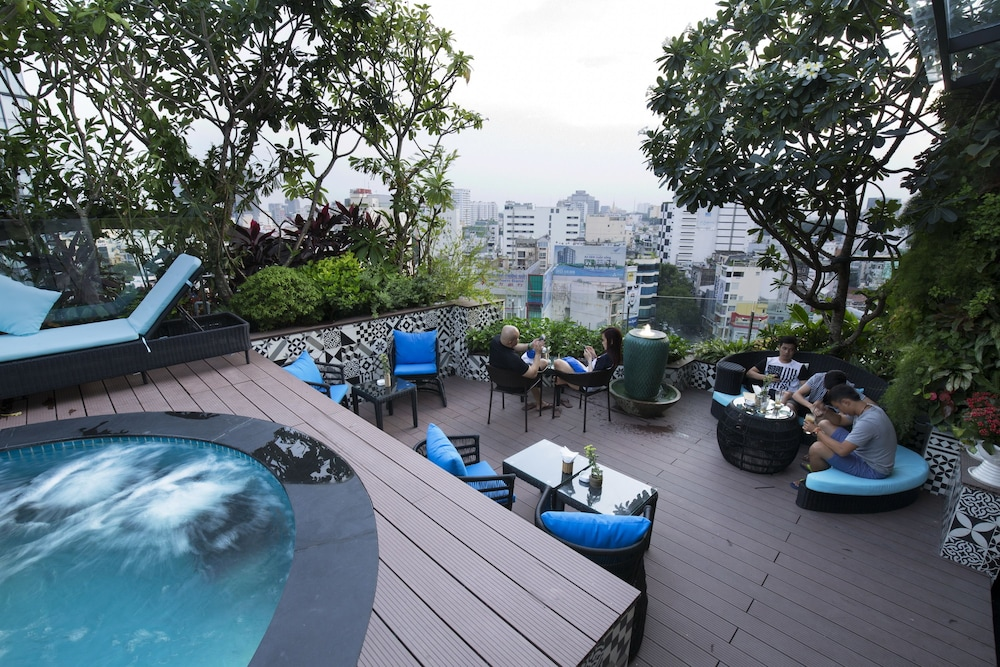City View, Alagon Saigon Hotel & Spa