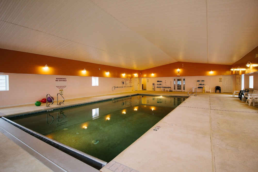 Indoor Pool, The Taber Inne & Suites