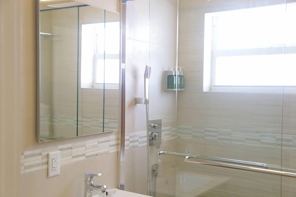 Bathroom Shower, The Diane Oceanfront Suites