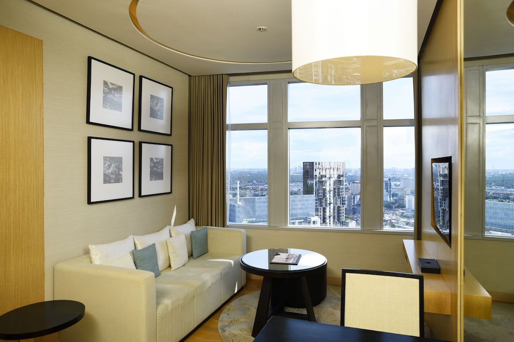 Living Area, Bangkok Marriott Hotel Sukhumvit