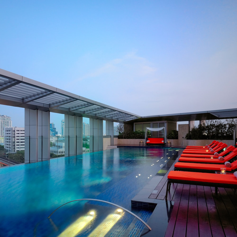 Outdoor Pool, Bangkok Marriott Hotel Sukhumvit
