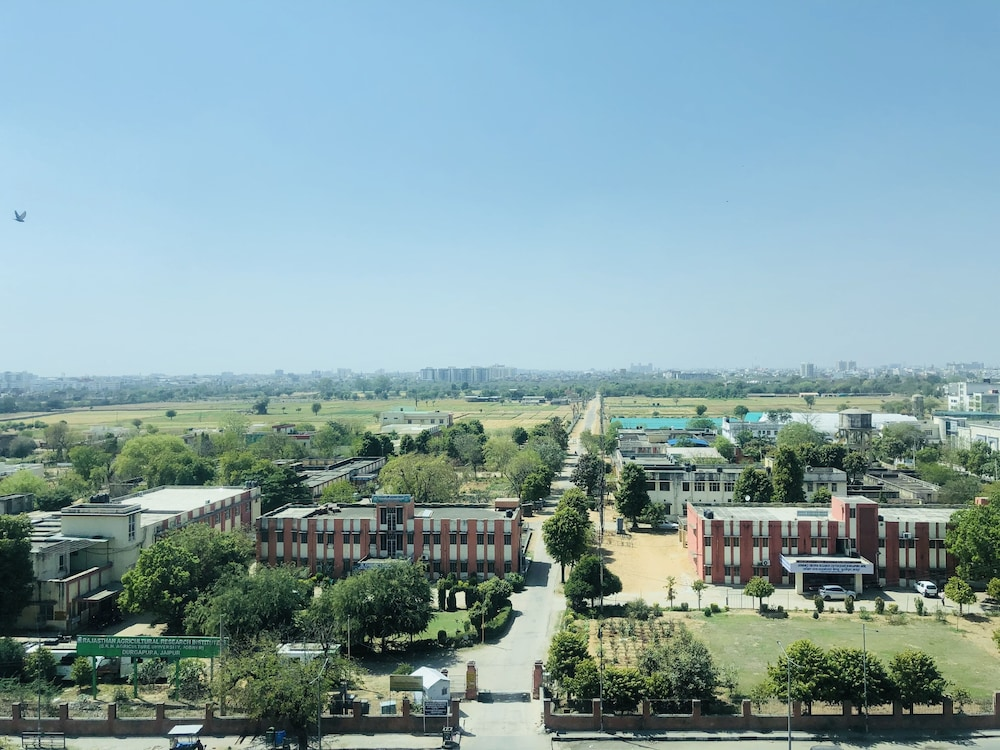 City View from Property, Radisson Blu Jaipur