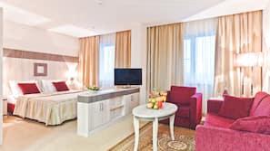 Minibar, Zimmersafe, schallisolierte Zimmer, Bügeleisen/Bügelbrett