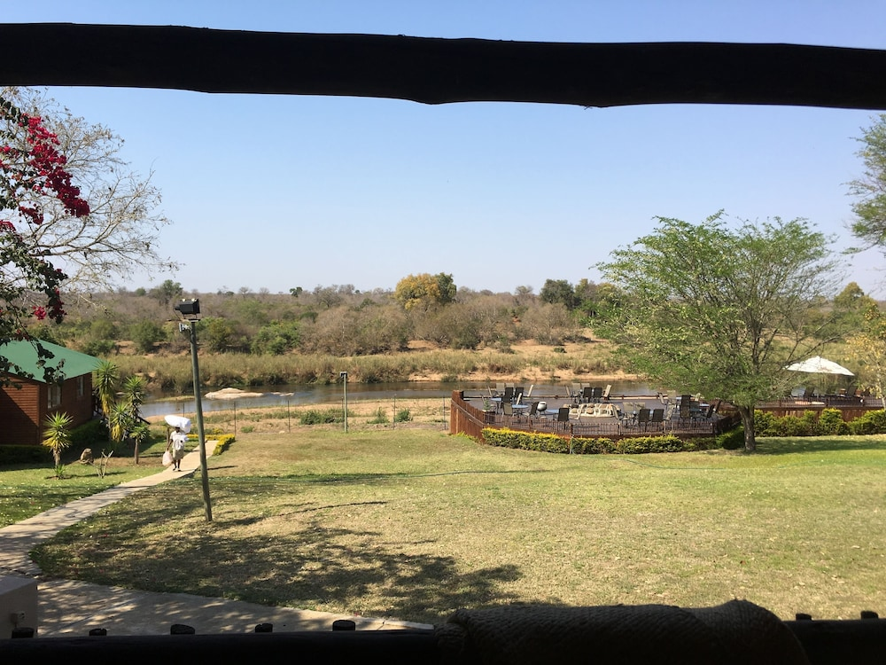 View from Room, Sabie River Bush Lodge