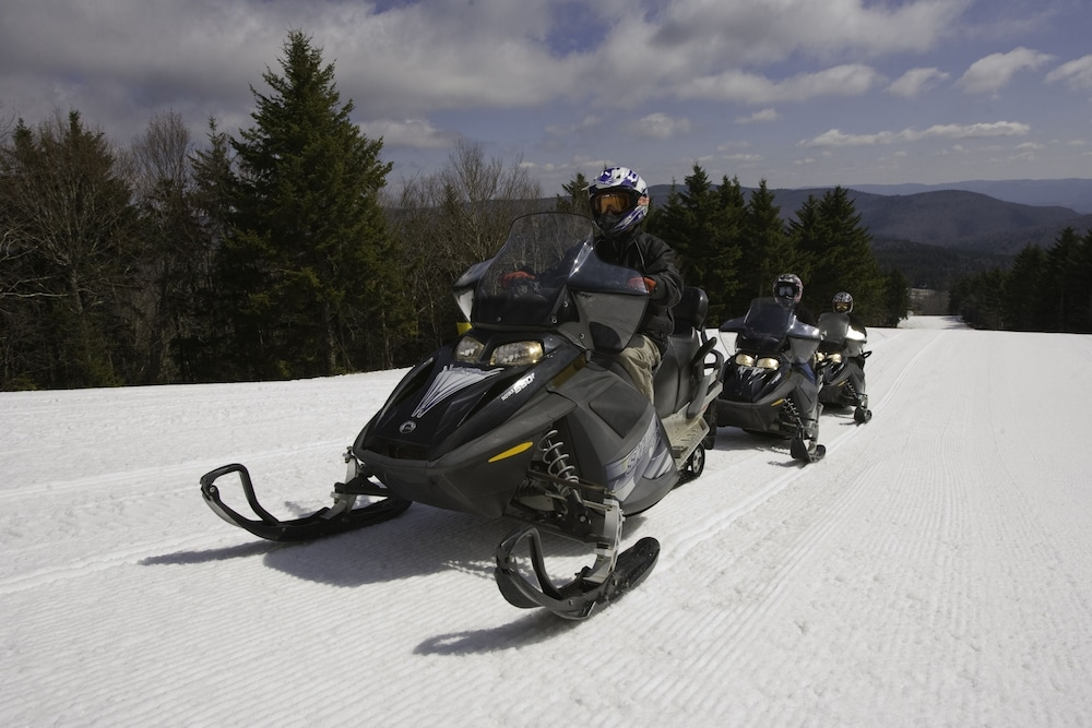 Snowmobiling, Highland House