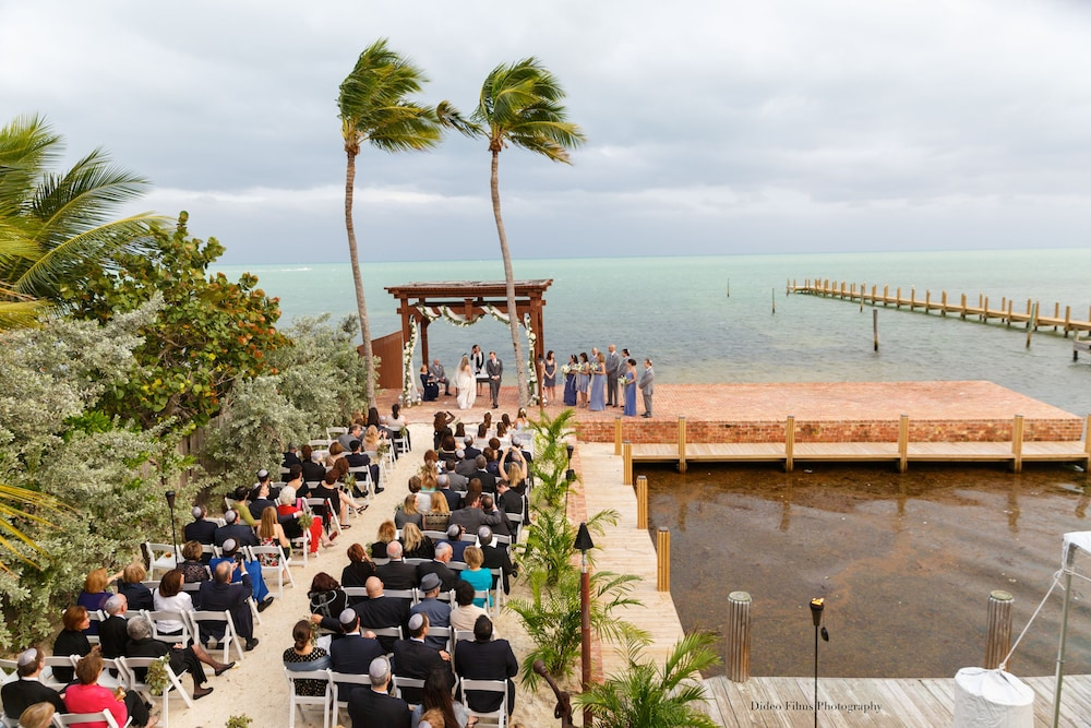 Outdoor Wedding Area, The Caribbean Resort