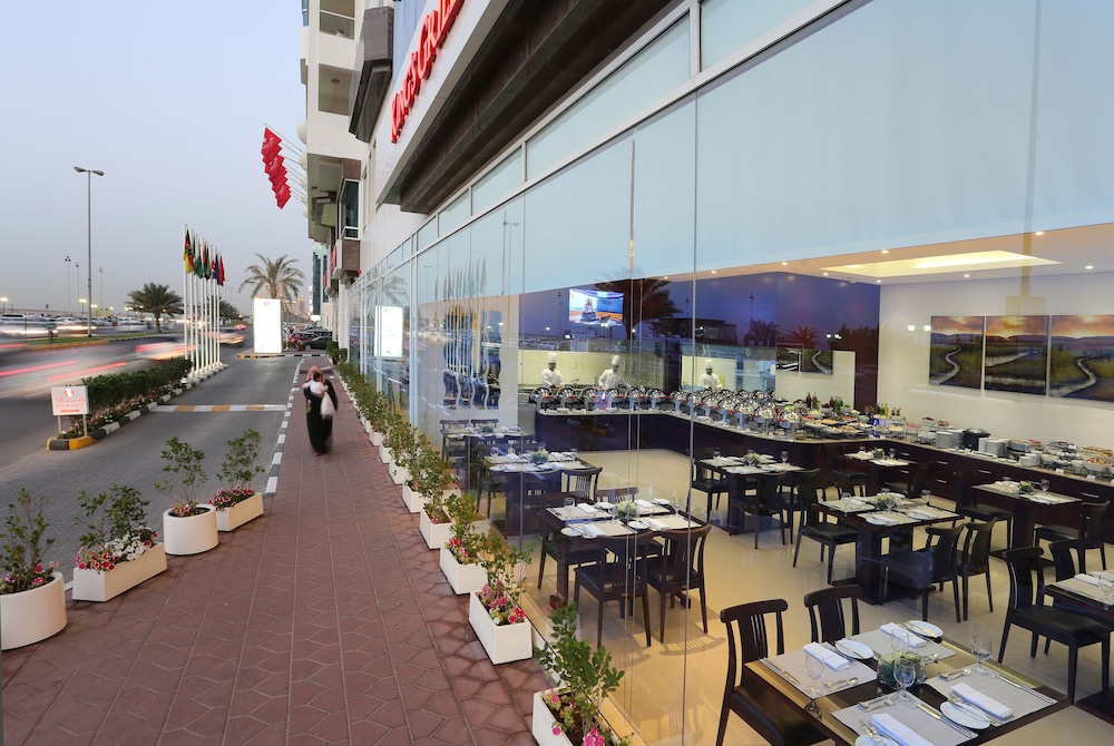 Ramada Beach Hotel Ajman 4 0 Out Of 5 Balcony View Featured Image Interior Entrance