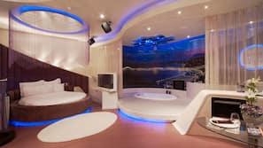 1 ห้องนอน, เครื่องนอนระดับพรีเมียม, มินิบาร์, โต๊ะทำงาน