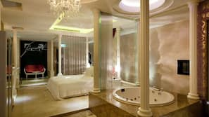 1 bedroom, premium bedding, free minibar, individually decorated