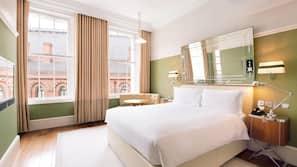 Bettwäsche aus ägyptischer Baumwolle, Zimmersafe, individuell dekoriert
