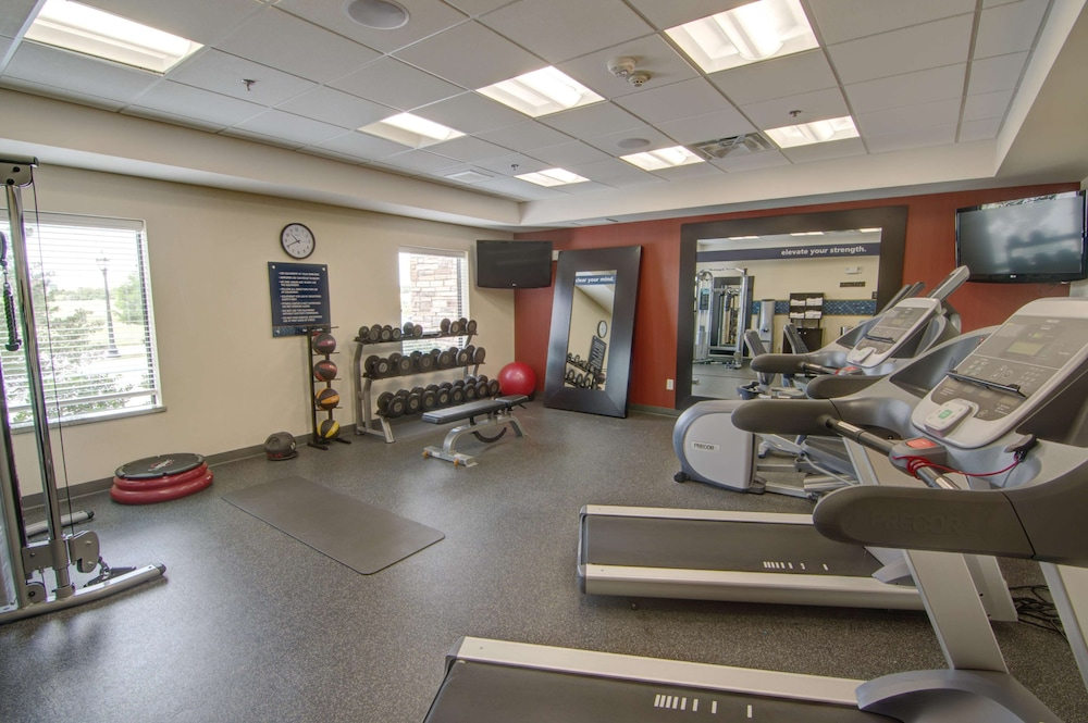 Fitness Facility, Hampton Inn & Suites Trophy Club - Fort Worth North, TX