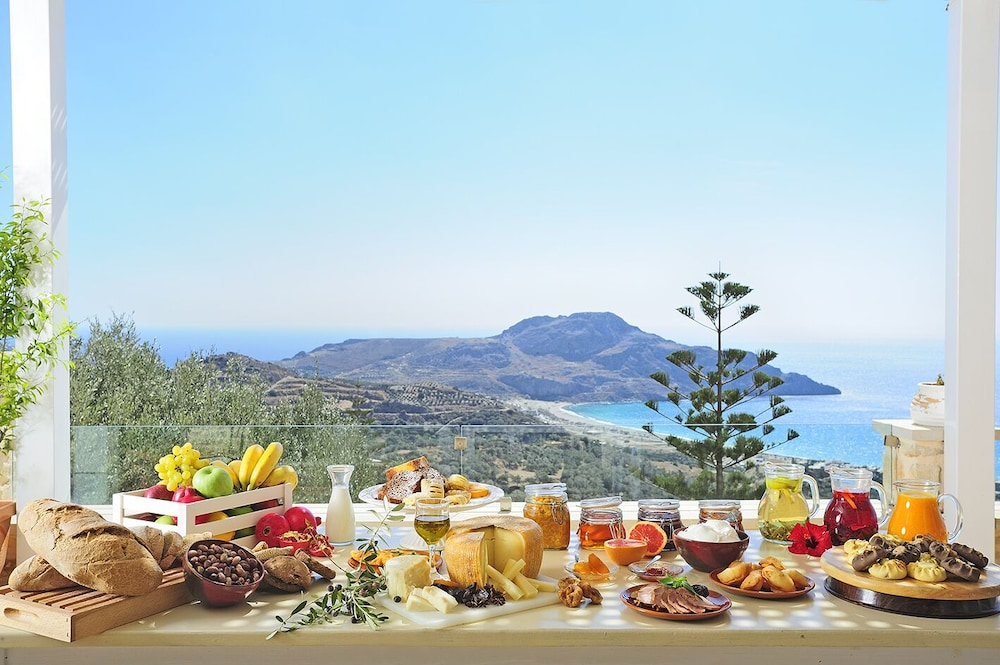 Breakfast buffet, Stefanos Village