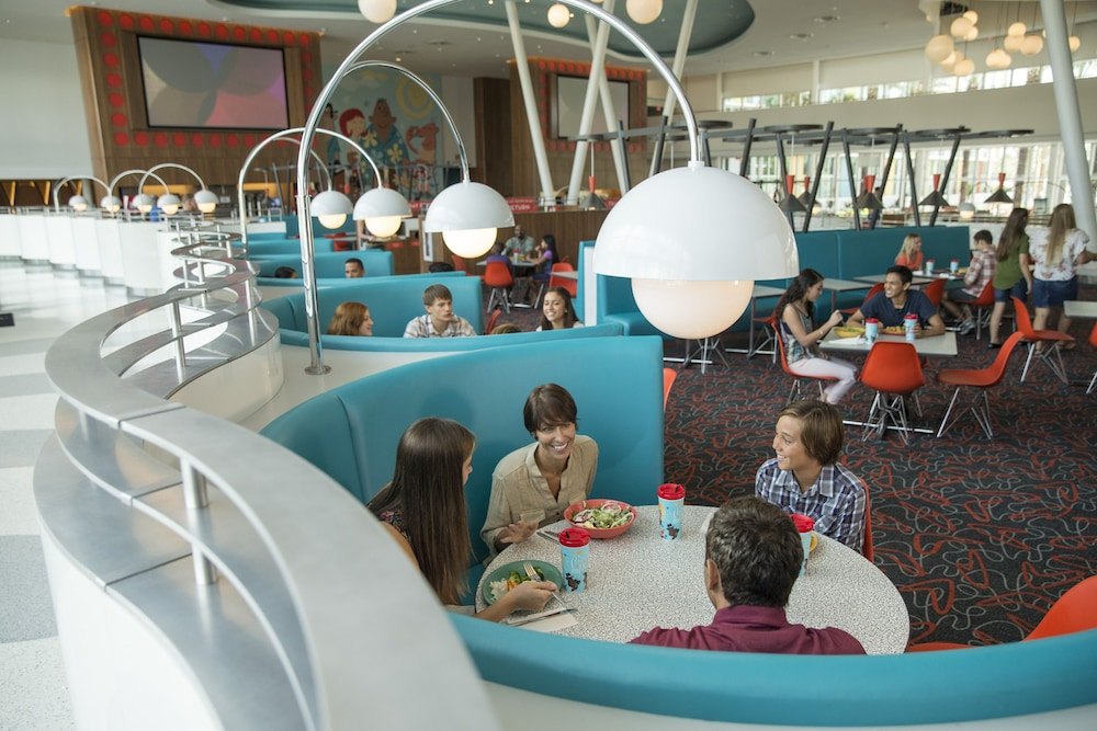Breakfast Area, Universal's Cabana Bay Beach Resort