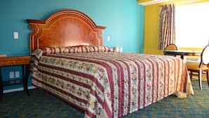Individually furnished, desk, free WiFi, alarm clocks