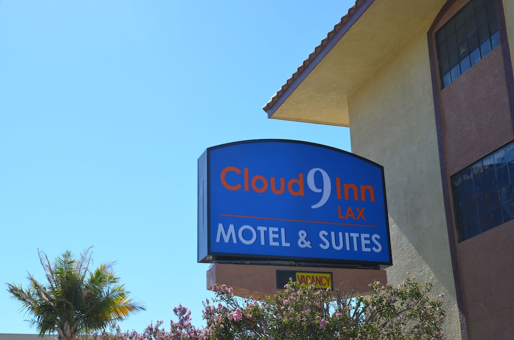 Exterior detail, Cloud 9 Inn LAX