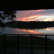 Vista para o lago