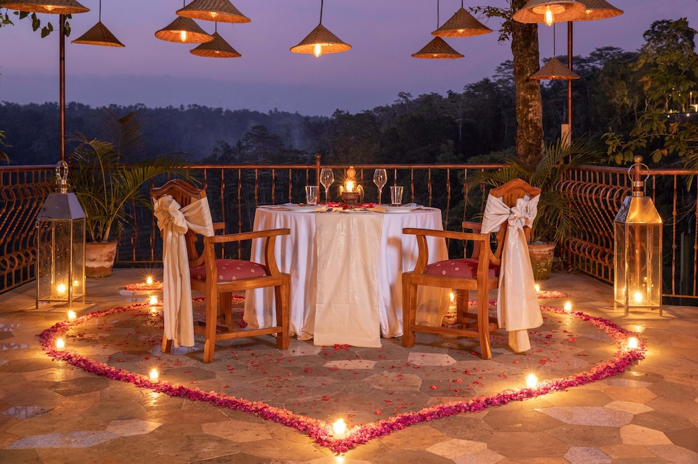 Couples Dining, Ayung Resort Ubud