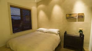 1 bedroom, down duvets, individually decorated, individually furnished