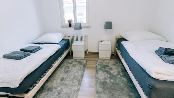 3 Schlafzimmer, WLAN, Bettwäsche