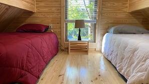1 間臥室、床單