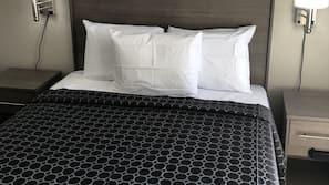 Memory foam beds, free WiFi