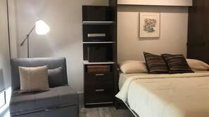1 soverom, wi-fi og sengetøy