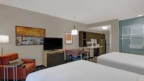 Laptop workspace, blackout drapes, iron/ironing board, free WiFi
