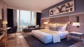 Premium bedding, pillow-top beds, free WiFi, bed sheets