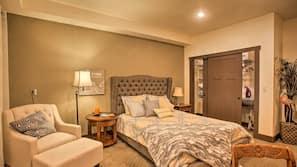 2 makuuhuonetta, työpöytä, ilmainen Wi-Fi, vuodevaatteet