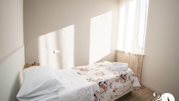2 Schlafzimmer, kostenloses WLAN, Bettwäsche