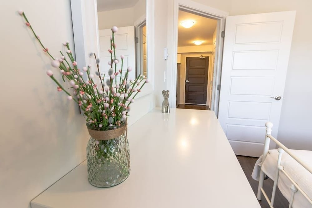 Room, Newly Renovated Modern Condo  Near Hospital, UNB  Patio & Parking  Coffee