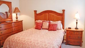 3 bedrooms, individually decorated, individually furnished