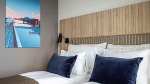 Strykjärn/strykbräda och sängkläder