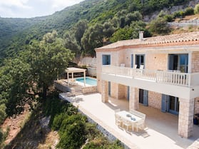 Modern Villa in Vasiliki With Swimming Pool and Jacuzzi