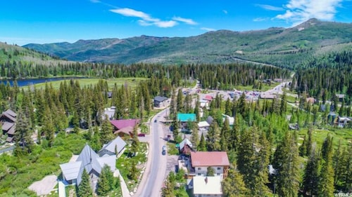 Property Grounds, Brighton Ski Resort, Hidden Falls 1 Bedroom Chalet Utah