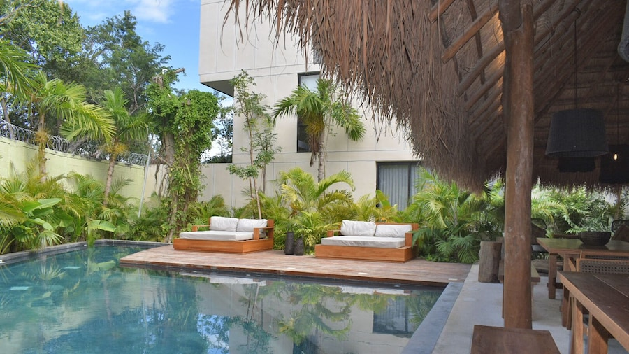 Penthouse with Plunge Pool at Aldea Zama