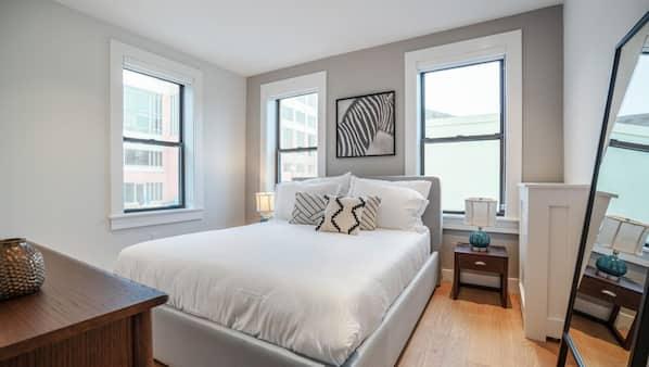 2 Schlafzimmer, Bügeleisen/Bügelbrett, Internetzugang, Bettwäsche