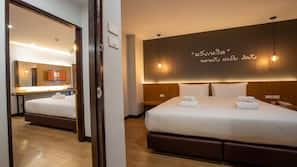 ตู้นิรภัยในห้องพัก, ผ้าม่านกันแสง, Wi-Fi ฟรี, ผ้าปูที่นอน