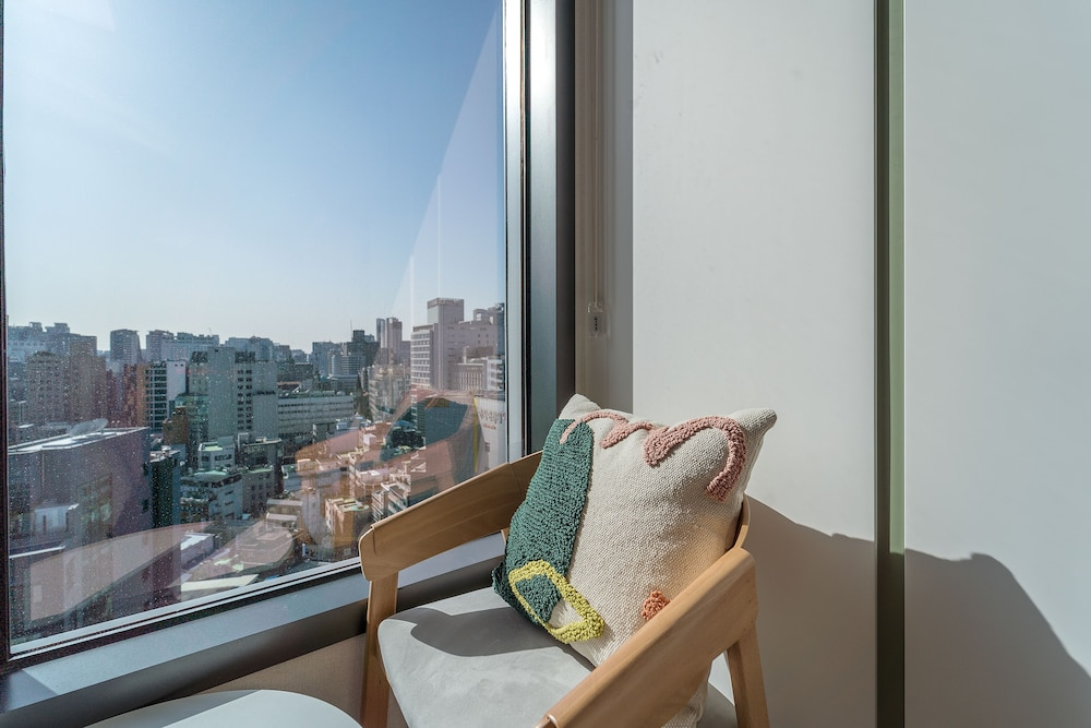 View from Property, UrbanStay The Namsan